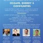 Oceans, Energy and Communities